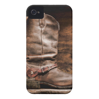 Cow Boy Boots Spur Country Monogram IPHONE 4 Case