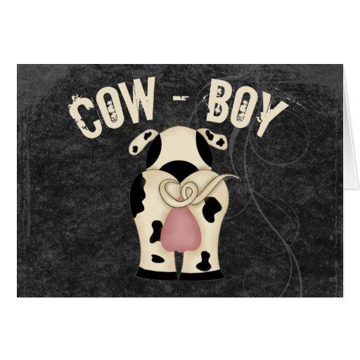 Cow-Boy Cards