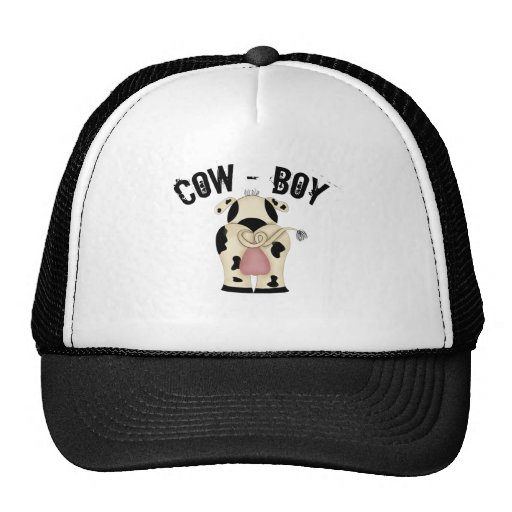 Cow-Boy Mesh Hat