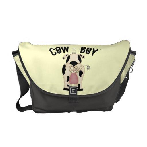 Cow-Boy Messenger Bags