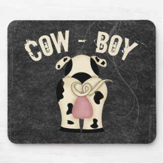 Cow-Boy Mouse Pad