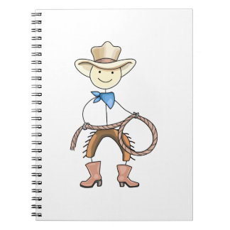 Cow Boy Note Book
