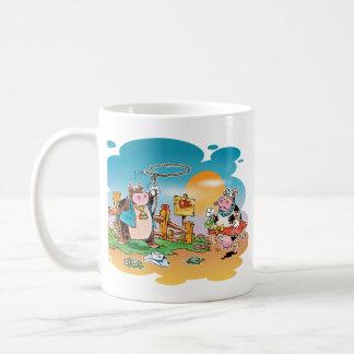 Cow-boys and Cow-girls Coffee Mugs