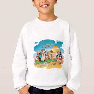 Cow-boys and Cow-girls Sweatshirt