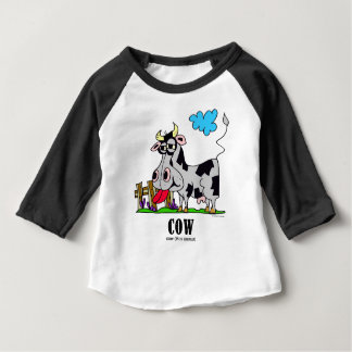 Cow by Lorenzo © 2018 Lorenzo Traverso Baby T-Shirt