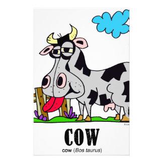 Cow by Lorenzo © 2018 Lorenzo Traverso Stationery