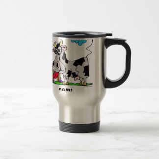 Cow by Lorenzo © 2018 Lorenzo Traverso Travel Mug