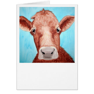 Cow Card - Customize it!