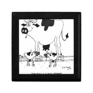 Cow Cartoon 3372 Gift Box