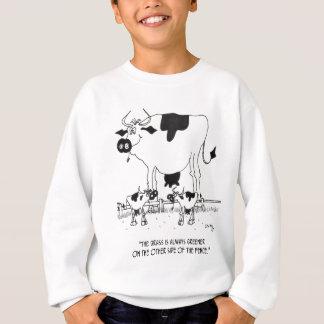 Cow Cartoon 3372 Sweatshirt