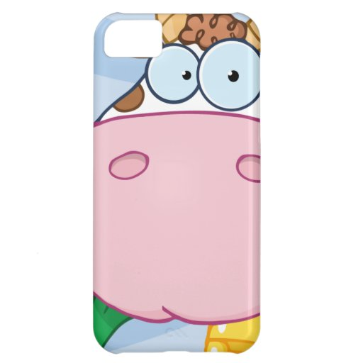 Cow Cartoon Character iPhone 5C Cover