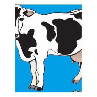 cow cartoon vectors--b postcard