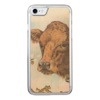 Cow Carved iPhone 8/7 Case