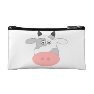 Cow Cosmetic Bag