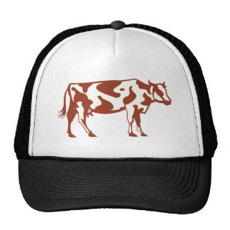 Cow cow trucker hats