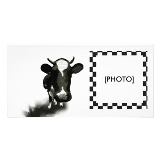 COW CUSTOMIZED PHOTO CARD