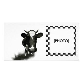 COW CUSTOMIZED PHOTO CARD