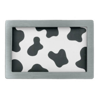 Cow design belt buckles