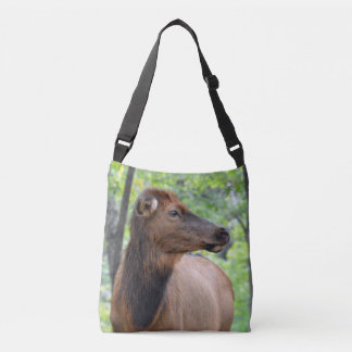 Cow Elk Crossbody Bag