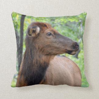 Cow Elk Cushion