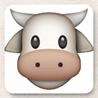 Cow - Emoji Drink Coasters
