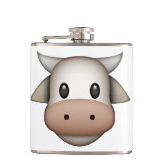 Cow - Emoji Hip Flask
