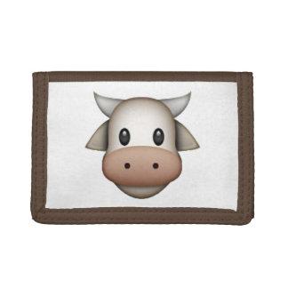 Cow - Emoji Tri-fold Wallet