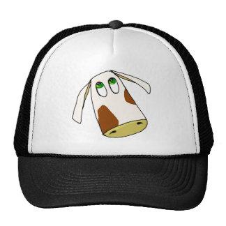 COW FACE TRUCKER HATS