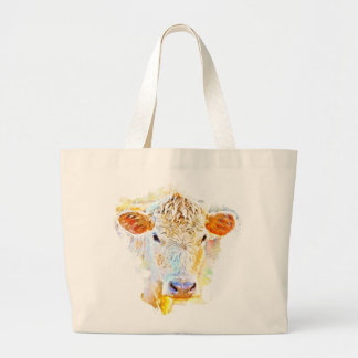 Cow Face Tote