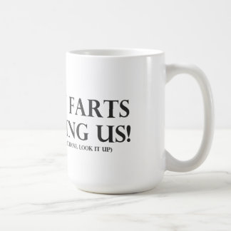 Cow Farts Are Killing Us Coffee Mug