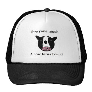 Cow Fetus Collector Trucker Hats
