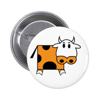Cow from Manovache 6 Cm Round Badge