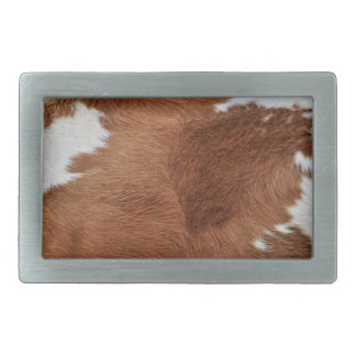 Cow Fur Belt Buckle