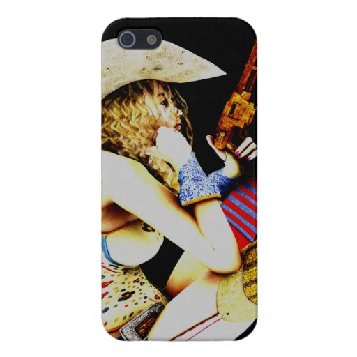 Cow girl 2 iPhone 5 case