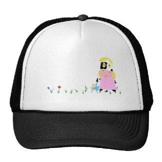 Cow Girl Mesh Hats