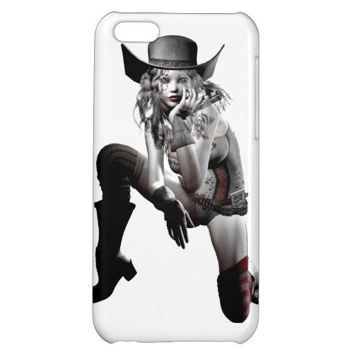 Cow girl iPhone 5C case