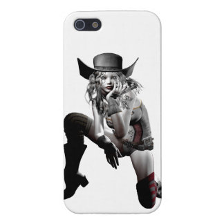 Cow girl iPhone 5 cover