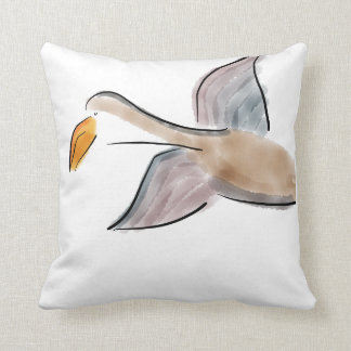 Cow Goose Reversible Cotton Pillow