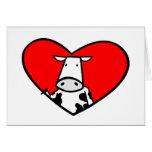 Cow Heart card