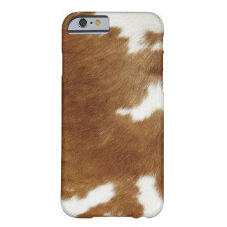 Cow hide iPhone 6 case
