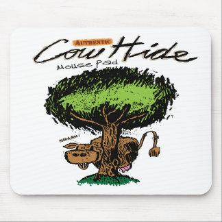 Cow Hide Mousepad