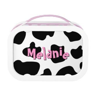 Cow hide pattern lunchbox | Custom cowgirl print