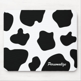 Cow hide pattern mouse pad | Funny animal print
