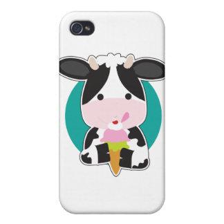 Cow Ice Cream iPhone 4/4S Case