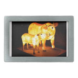 Cow Image Fash Belt Buckles