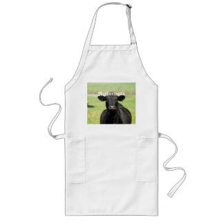 Cow in Netherlands Long Apron