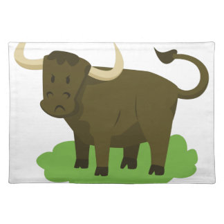 cow in the grass placemat