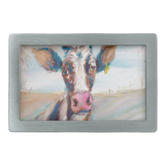 Cow in the Pasture Belt Buckles