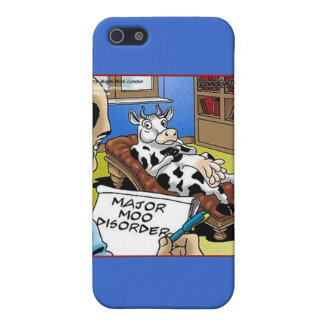 Cow In Therapy 4 Mooo Disorder Gifts Tees Cards iPhone 5 Cases