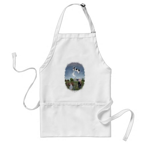 COW JUMPED OVER THE MOON APRON